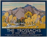 the trossachs by john littlejohns