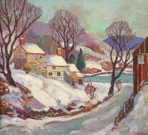 winter on the delaware by fern isabel coppedge