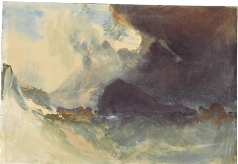 the mewstone devon by joseph mallord william turner
