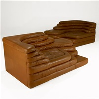 terrazza sofas (pair) by ubald klug