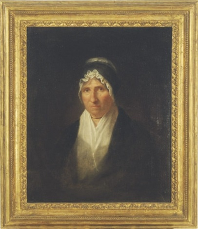 portrait of mrs william channing by washington allston