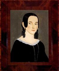portrait of patricia cushman clark by william w. kennedy