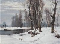 quiete invernale by francesco bosso