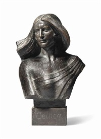 bust of celtica by james pittendrigh macgillivray