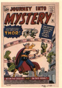 journey into mystery no.83 by dick ayers