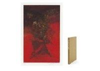 canto pisan (portfolio of 8) by zao wou-ki