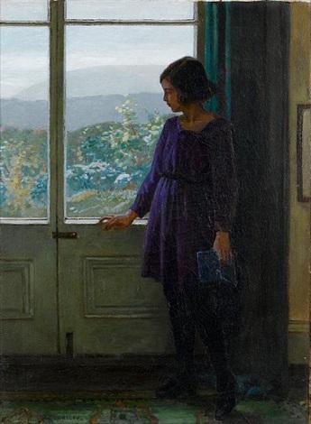 by the window by garnet ruskin wolseley