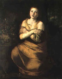 maddalena penitente by angelo solimena the elder