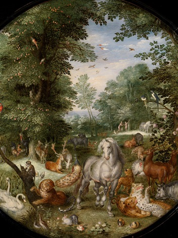 paradiesgarten by jan brueghel the younger