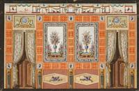 proyecto de decoración para la casa del labrador by jean démosthène dugourc