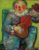 le clown guitariste by blasco mentor
