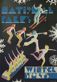 national parks/winter sports by dorothy waugh