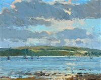 yachts at fairlie by douglas lennox