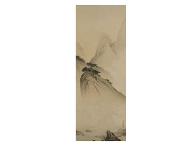 mount horai by hashimoto gaho