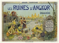 les ruines d'angkor, indochine by george groslier