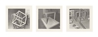 neun objekte (portfolio of 9) by gerhard richter