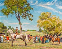 at the horse show by howard everett smith