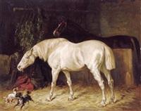 im pferdestall by gustav colsoulle