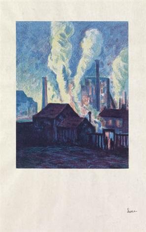 usines à charleroi by maximilien luce