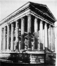 temple d'auguste et de livie by charles (ph) lenormand