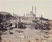 le caire, mosquée de mehemet ali à la citadelle by wilhelm hammerschmidt