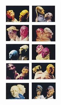 united enemies (a play in ten scenes) (in 10 parts) by thomas schütte