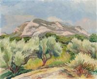 les oliviers à toulon by abram adolphe milich