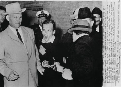 jack ruby shooting lee harvey oswald by robert h bob jackson