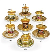 cup and saucer by batenin factory