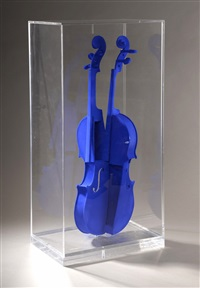 hommage à yves klein by arman