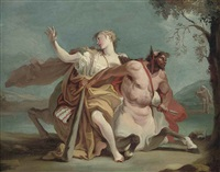 deianeira and nessus by giovanni battista crosato