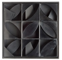 night leaf by louise nevelson