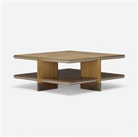 coffee table from price tower, bartlesville, oklahoma by frank lloyd wright