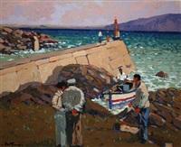 poirtín harbor, achill by alex mckenna