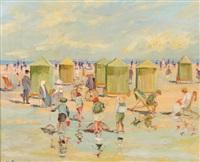 scène de plage by albert rigaux