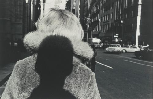 new york city (fur collar) by lee friedlander