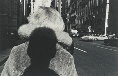 new york city fur collar by lee friedlander