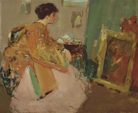 an artistic reverie by richard edward miller