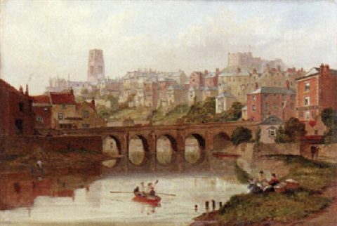 a view of durham by thomas h hair