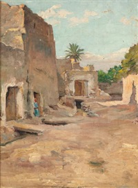 village d'afrique du nord by fritz muller