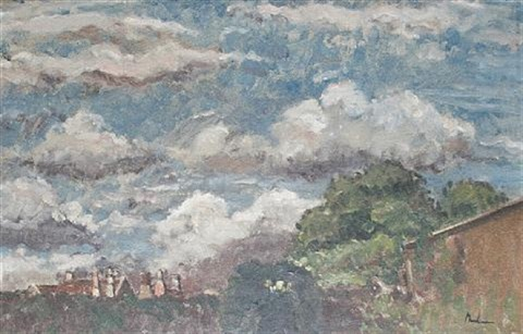 clouds study by paul ayshford methuen