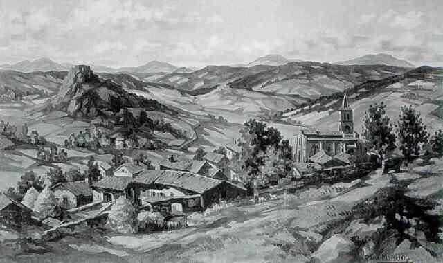 paysage de haute loire by gabriel moiselet