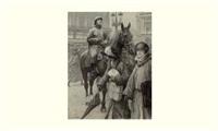 une nouvelle silhouette de paris : l'agent à cheval by louis rémy sabattier