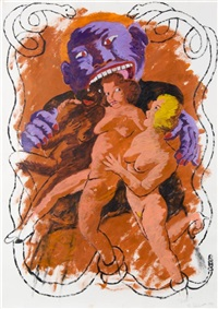 lust by robert h. colescott