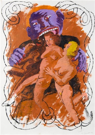 lust by robert h colescott