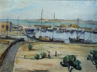 le port de pèche à sfax by natacha markov