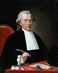 portrait of dr. borcat francois by joseph rabiato