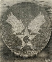 indoctrination division, air training command, lackland air base, san antonio, texas by eugene omar goldbeck