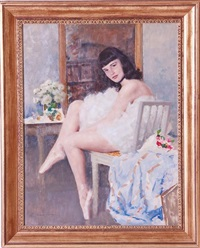 ballerina by lucien henri grandgerard