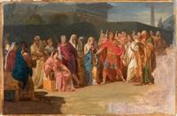 scène de l'histoire romaine by jérome-martin langlois
